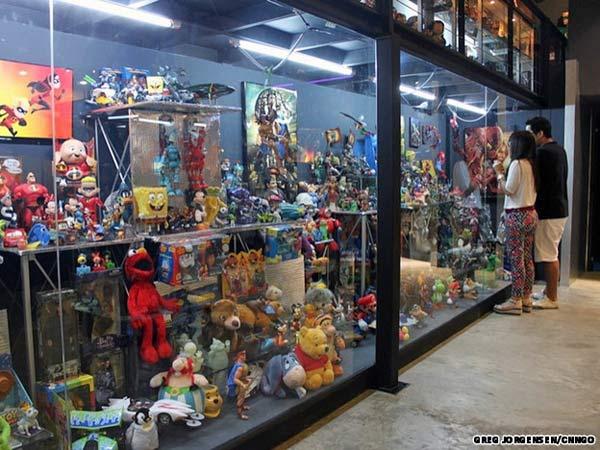 bảo tàng đồ chơi
