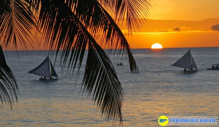 Hoàng hôn trên biển Boracay