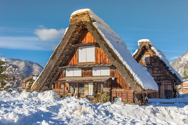 Ghé thăm làng cổ Shirakawa xinh đẹp