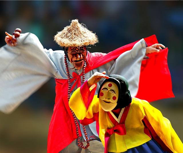 Lễ hội múa mặt nạ độc đáo ở Hàn Quốc