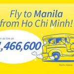 Siêu khuyến mãi cho hành trình bay đi Manila