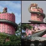 Ấn tượng với đền Wat Samphran ở Thái Lan