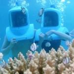 Trải nghiệm đi bộ dưới biển tại Boracay