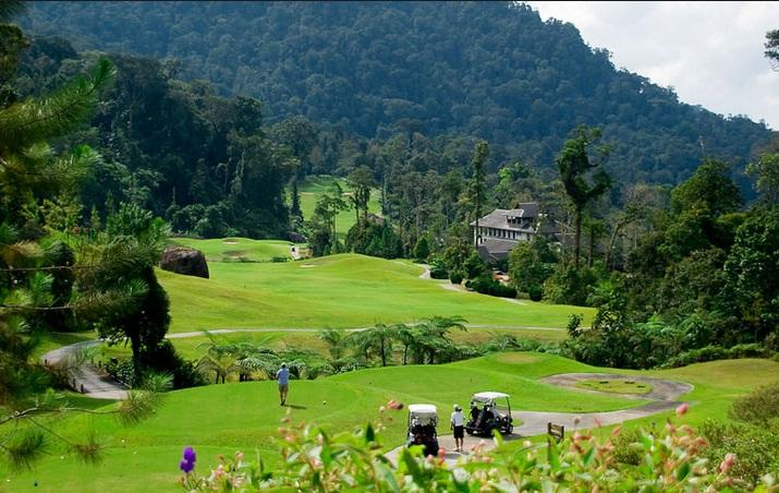 Đẳng cấp thiên đường golf tại Malaysia