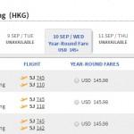 Vé máy bay đi Hồng Kông bao nhiêu tiền?