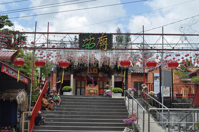 Đền thờ rắn linh thiêng ở Malaysia