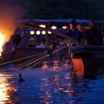 Trải nghiệm bắt cá bằng chim cốc tại Inuyama