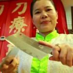 Đến Đài Loan trải nghiệm massage bằng dao