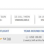 Rất nhiều vé máy bay 1 peso đi Philippines