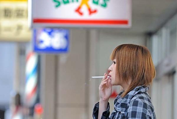 hút thuốc Nhật Bản