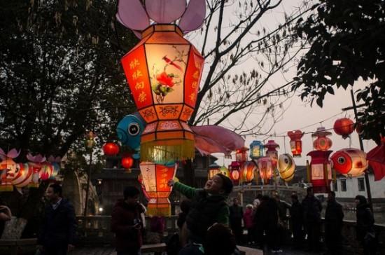 Đón tết nguyên đán tại thị trấn cổ Wuzhen