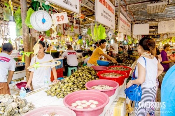 D'Talipapa - chợ hải sản dân dã ở Boracay