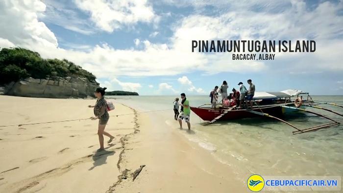 Pinamuntugan island, Legazpi