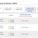 Vé máy bay đi Boracay bao nhiêu tiền?