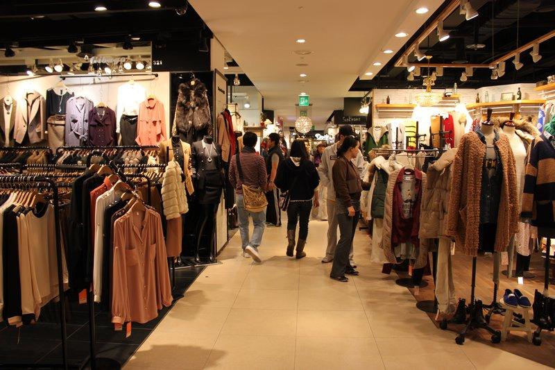 khu thời trang dongdaemun