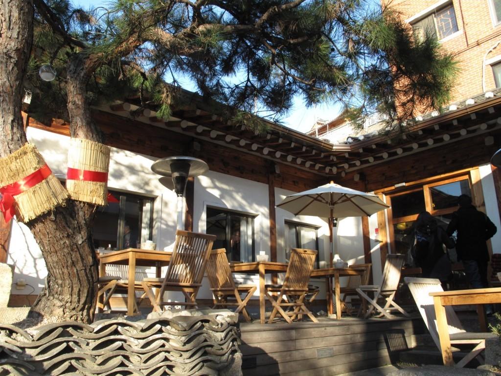 cà phê phố Cheong dam dong