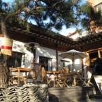 cà phê phố Samchung Dong