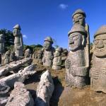 tượng đá ở Jeju