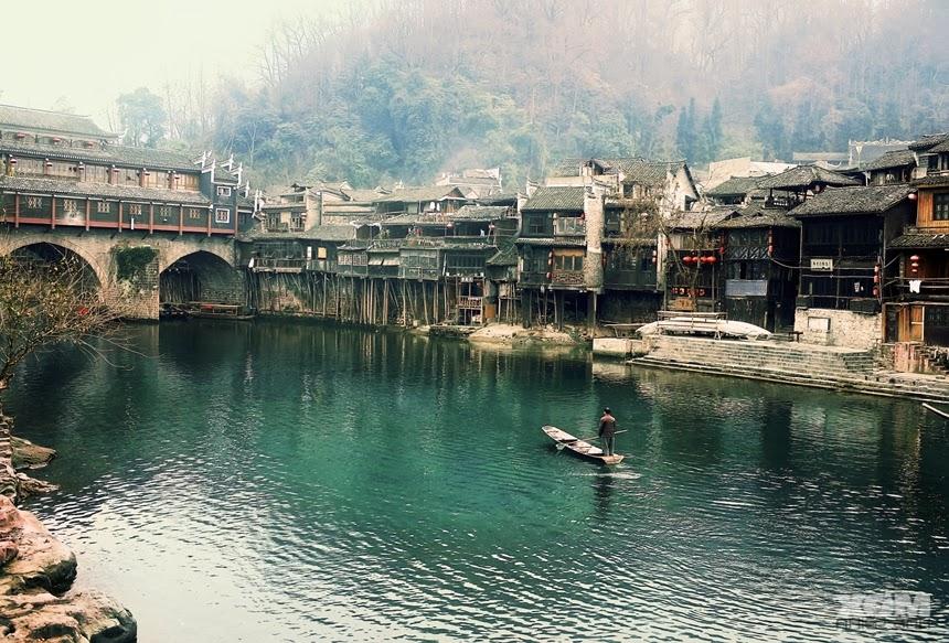 địa danh thơ mộng Trung Quốc
