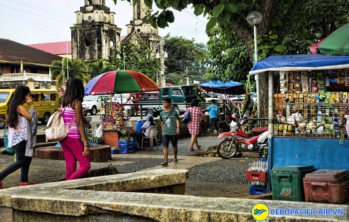 Góc phố cổ ở Bacolod
