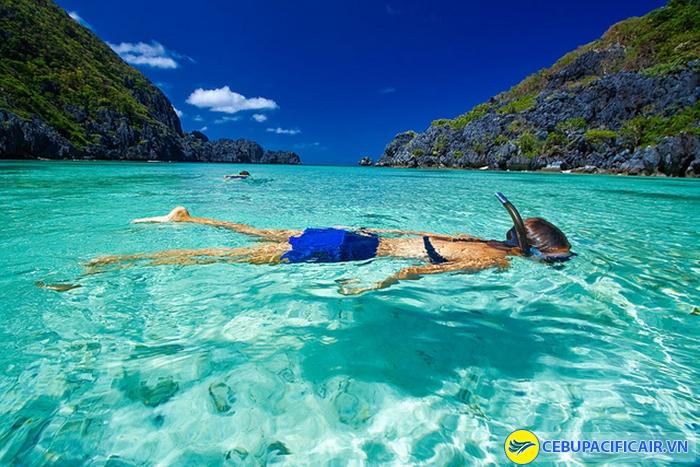Trải nghiệm tắm/lặn biển ở Palawan