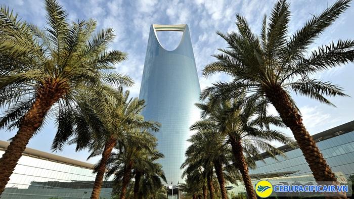 Thành phố Riyadh nổi bật với những công trình kiến trúc ấn tượng