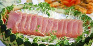 Món cá ngừ đại dương