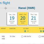 Hành trình từ Manila – Hà Nội chỉ từ 68,56 USD