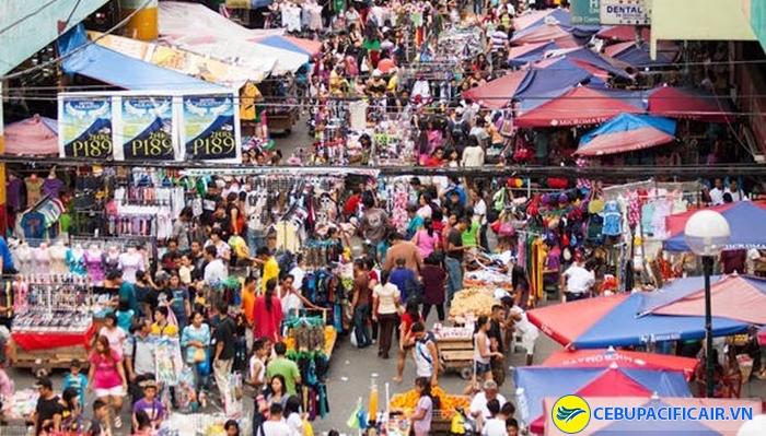 Khu chợ mỹ nghệ Quiapo