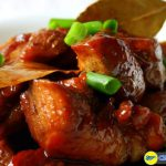 Chicken and pork adobo of Philippines