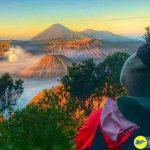 Ngắm bình mình trên núi Bromo, Indonesia