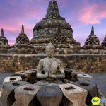 Đền Borobudur lớn nhất tại Indonesia