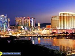Một góc Macau vào buổi tối