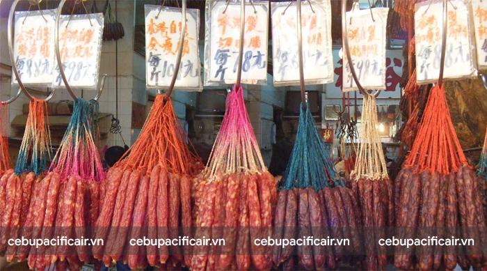 Bánh bao chà bông Hong Kong