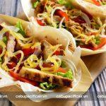 Chicken Inasal Burrito