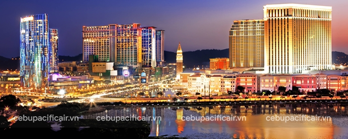 Thành phố Ma Cao về đêm