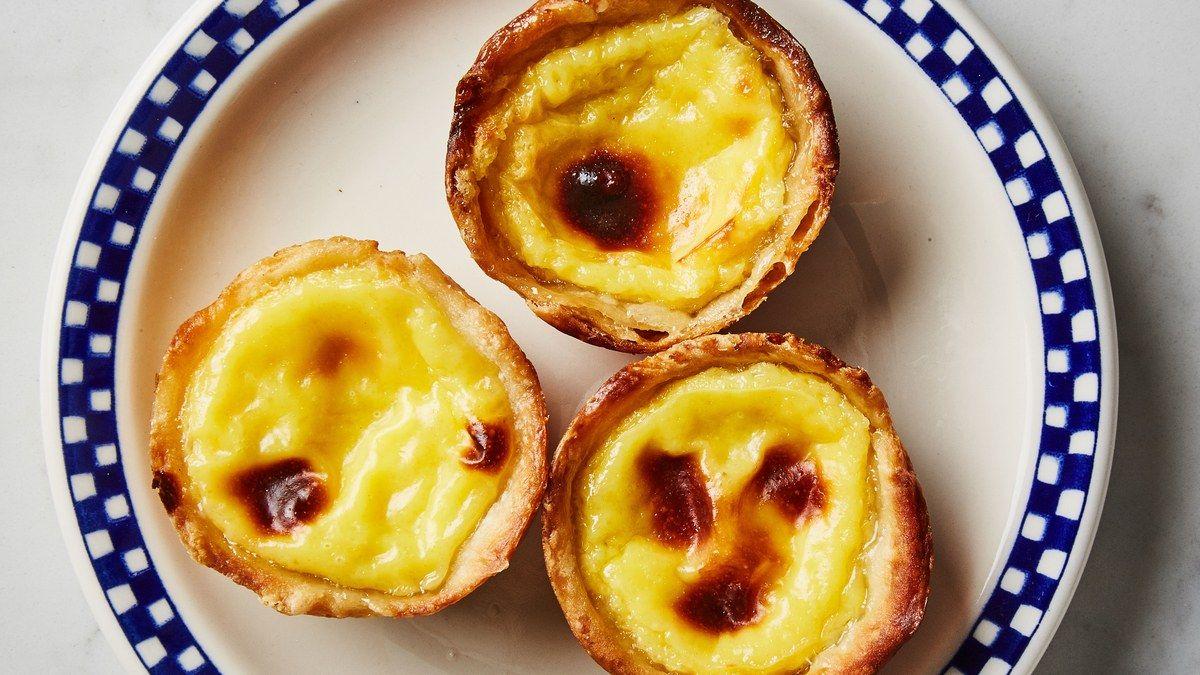 Banh Tart trứng Bồ Đào Nha